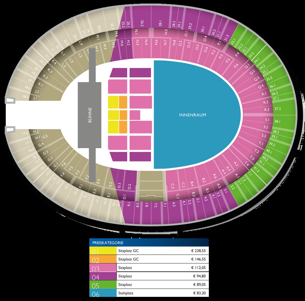Berliner Olympiastadion Sitzplan